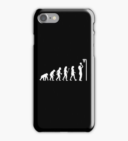 Funny Netball T Shirt iPhone Case/Skin
