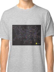 Pac Man Tube map Classic T-Shirt