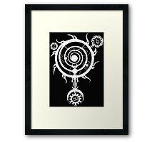 The White Spell Magic Framed Print