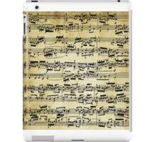 Sheet music Bach Fugue  iPad Case/Skin