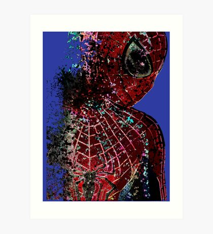 Vanished Spider Art Print