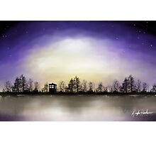 Doctor Who Across The Lake Photographic Print