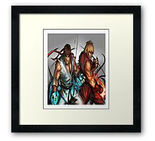Street Fighter | Ryu x Ken Framed Print