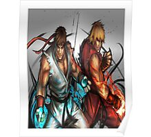Street Fighter | Ryu x Ken Poster
