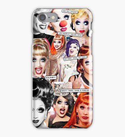 Bianca Del Rio collage iPhone Case/Skin