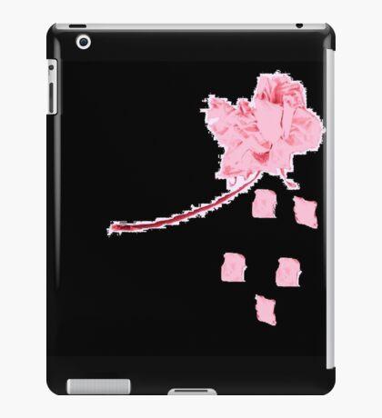 pixel - he love's me not iPad Case/Skin
