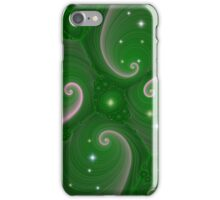 Starry Green iPhone Case/Skin