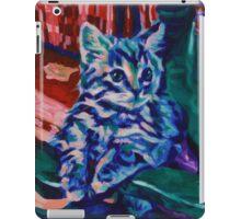 Blue Cat iPad Case/Skin