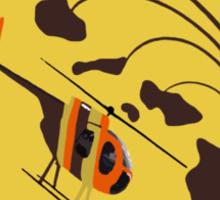 Island Hoppers /brown Sticker