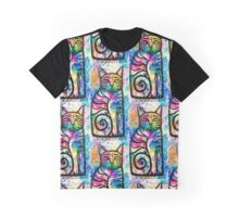 Sitting cat Graphic T-Shirt