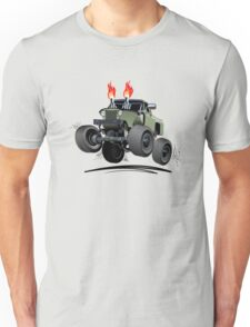 Cartoon Custom 4x4 Car Unisex T-Shirt