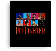 PIT FIGHTER - BAD GUYS - ARCADE GAME Canvas Print