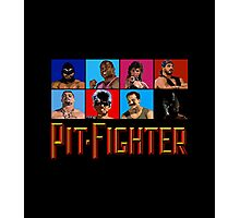 PIT FIGHTER - BAD GUYS - ARCADE GAME Photographic Print