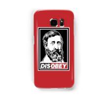 """Henry David Thoreau """"Disobey""""  Samsung Galaxy Case/Skin"""