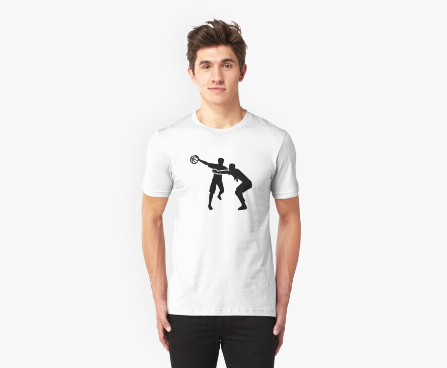 Basketball Player by Designzz