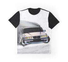 BMW E36 Drift Graphic T-Shirt