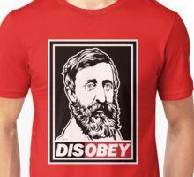 """Henry David Thoreau """"Disobey""""  Unisex T-Shirt"""