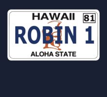 """Robin 1""  Magnum Hawaii Plate by tragbar"