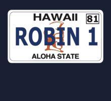 """Robin 1""  Magnum Hawaii Plate by tragbar"