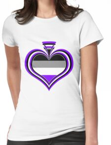 Ace Spade Womens Fitted T-Shirt