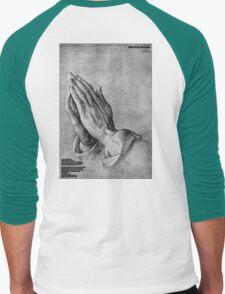 Dont Pray 4 Love Men's Baseball ¾ T-Shirt