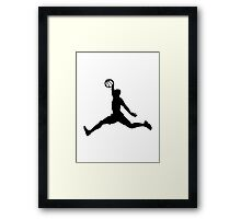 Basketball Player sports Framed Print