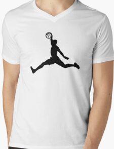 Basketball Player sports Mens V-Neck T-Shirt