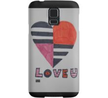 sixties love Samsung Galaxy Case/Skin
