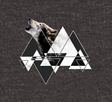 Abstract Howling Wolf Unisex T-Shirt