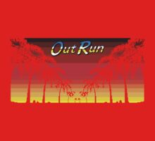 OUT RUN - LAST WAVE Kids Tee