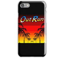 OUT RUN - LAST WAVE iPhone Case/Skin