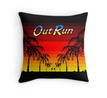 OUT RUN - LAST WAVE Throw Pillow
