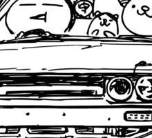 Crazy Car Art 0014 Sticker