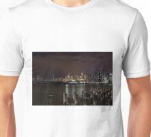 Dockland with Etihad Stadium in the background Unisex T-Shirt