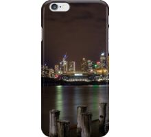 Dockland with Etihad Stadium in the background iPhone Case/Skin