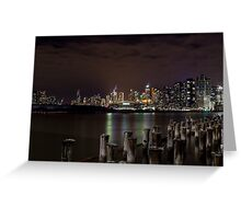Dockland with Etihad Stadium in the background Greeting Card