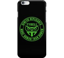 TYRELL CORPORATION - BLADE RUNNER (GREEN) iPhone Case/Skin