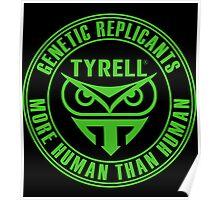 TYRELL CORPORATION - BLADE RUNNER (GREEN) Poster