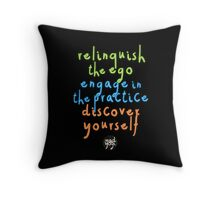 Mad Yogi # 1 Throw Pillow