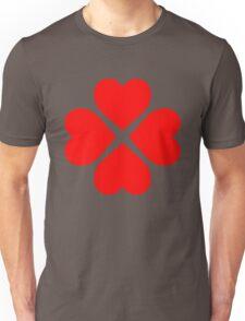 Heart Flower Unisex T-Shirt