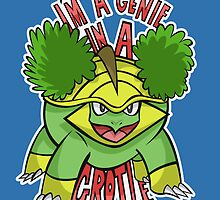 PokéPun - 'Genie In a Grotle' by Alex Clark