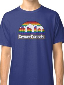 DENVER NUGGETS BASKETBALL RETRO Classic T-Shirt