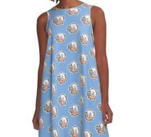 donut cat A-Line Dress