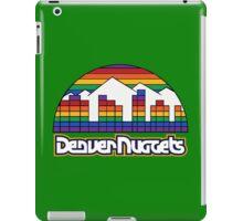 DENVER NUGGETS BASKETBALL RETRO iPad Case/Skin