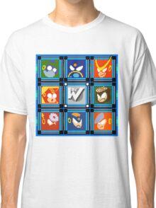 Megaman 2 Boss Select Classic T-Shirt