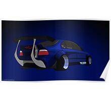 BMW E39 Drift Poster