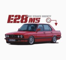 BMW E28 M5 - red by BSsociety