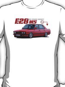 BMW E28 M5 - red T-Shirt
