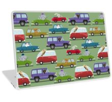 Animals In Cars Laptop Skin