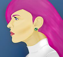 Painting Series - Jessie  by Alex Clark
